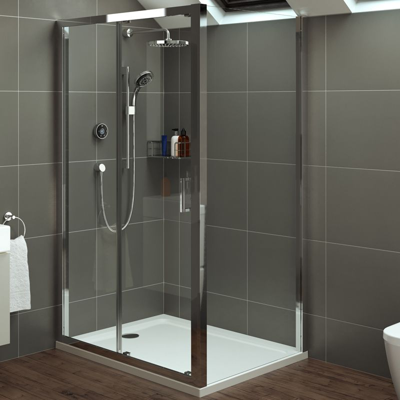 Mira Leap Shower Enclosures Offer Market Leading Ease Of Installation And Top Of The Shower Enclosure Shower Sliding Glass Door Frameless Sliding Shower Doors