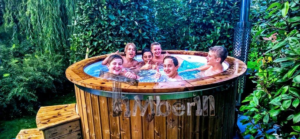 Fiberglass-slider-2 Hot tubs mit Glasfasereinsatz Holzbadezuber