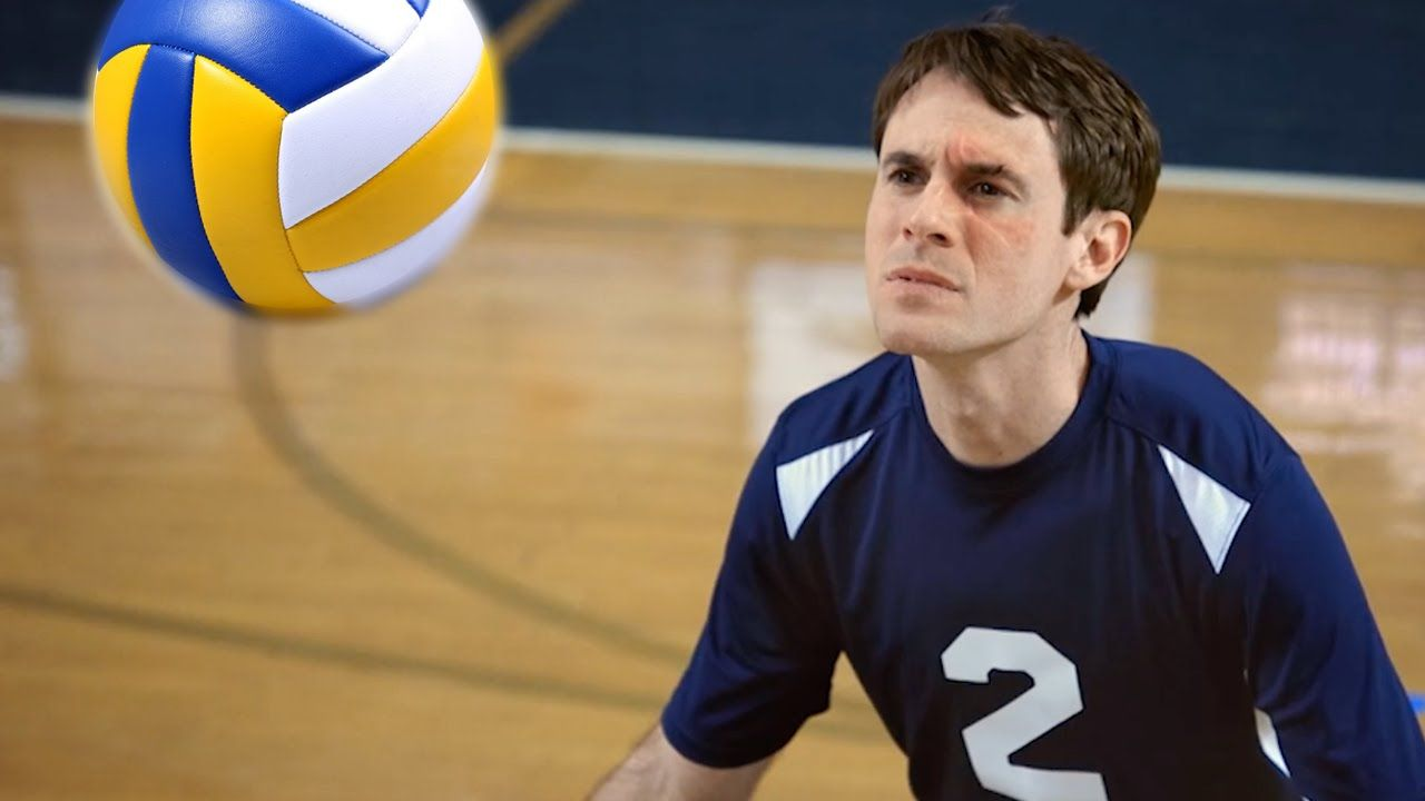 Scott Sterling Uses His Face To Make Amazing Volleyball Blocks In A Studio C Comedy Sketch Studio C Studio C Videos Volleyball
