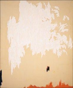 Clyfford Still November 1954 support 114 x 95 inches. Albright-Knox Art Gallery