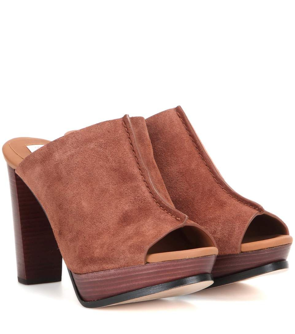 b4faa35d4bf SEE BY CHLOÉ Suede Mules.  seebychloé  shoes  sandals