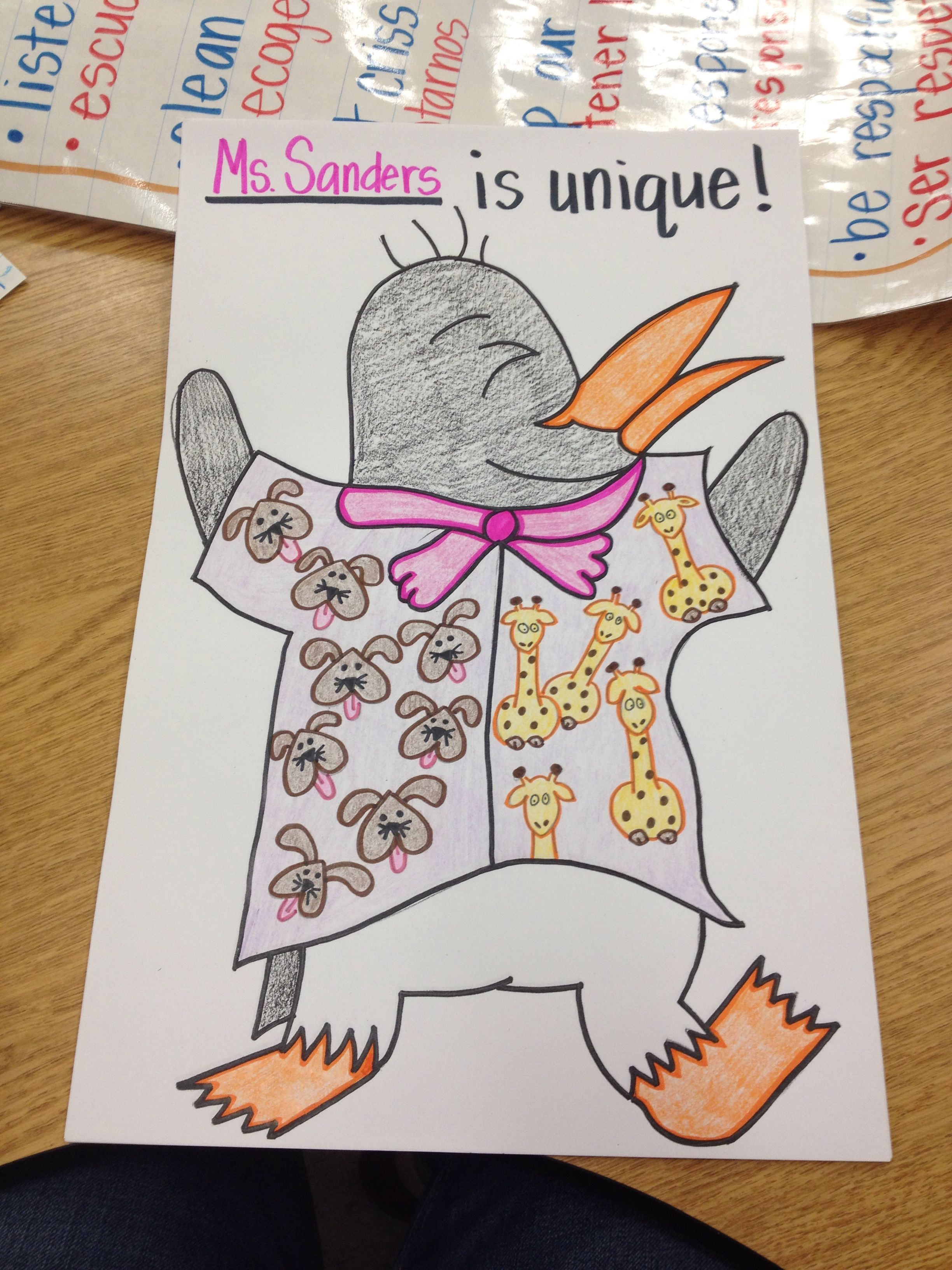 We Created Our Own Tacky The Penguin And Decorated His