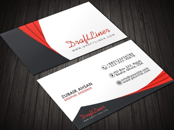 Contrasting modern minimal design corporate business card psd contrasting modern minimal design corporate business card psd template draft liner cheaphphosting Images