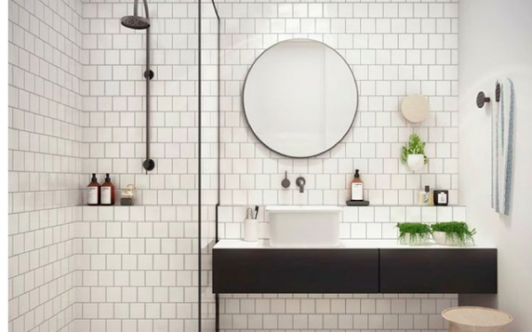 Petite salle de bain 34 photos id es inspirations for Petite salles de bain