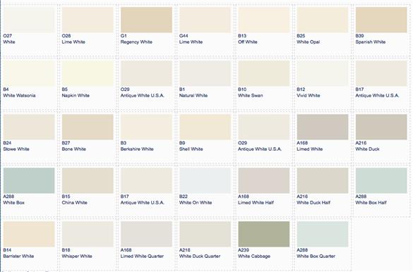 white paint colors. funny. designer favorite gray paint colors