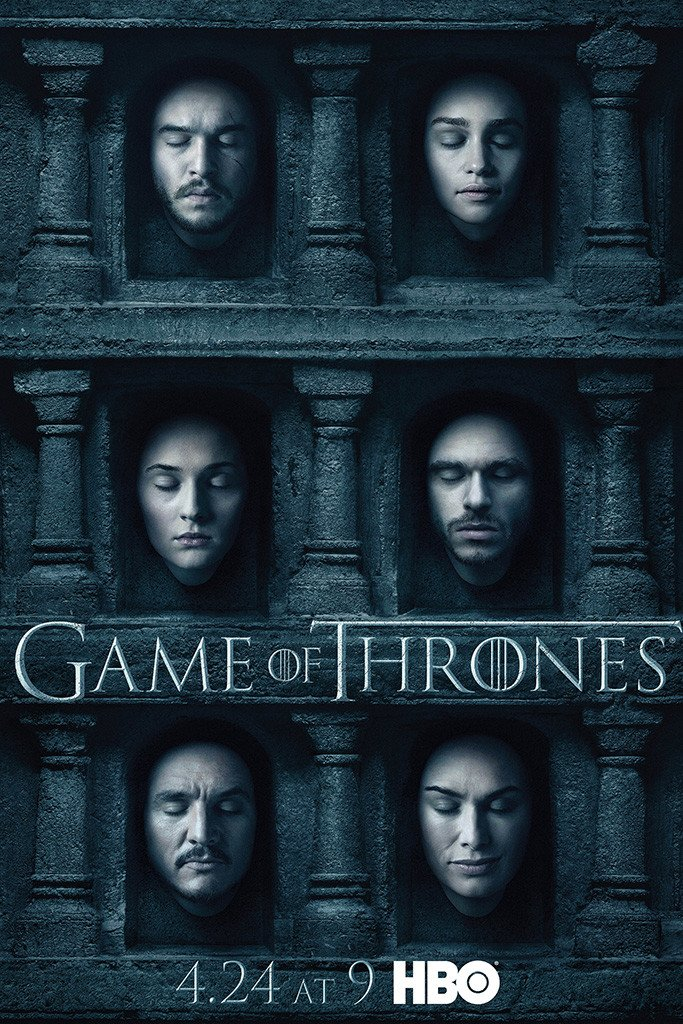 Game Of Thrones Season 6 Poster Poster De Game Of Thrones Capas