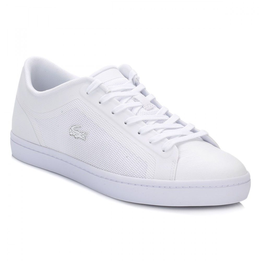 Lacoste Womens White Straightset Trainers Lacoste Shoes Women b86fe2d3e