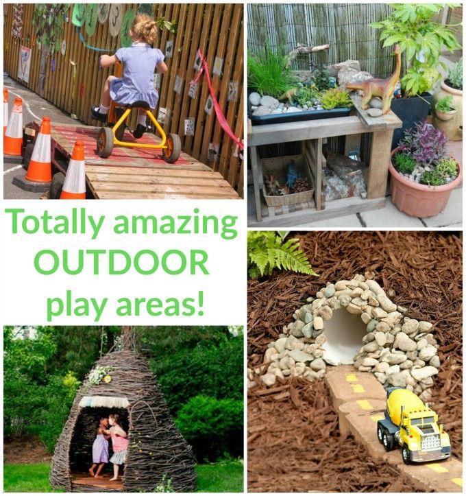 Inspiring Outdoor Play Spaces Backyard play, Outdoor