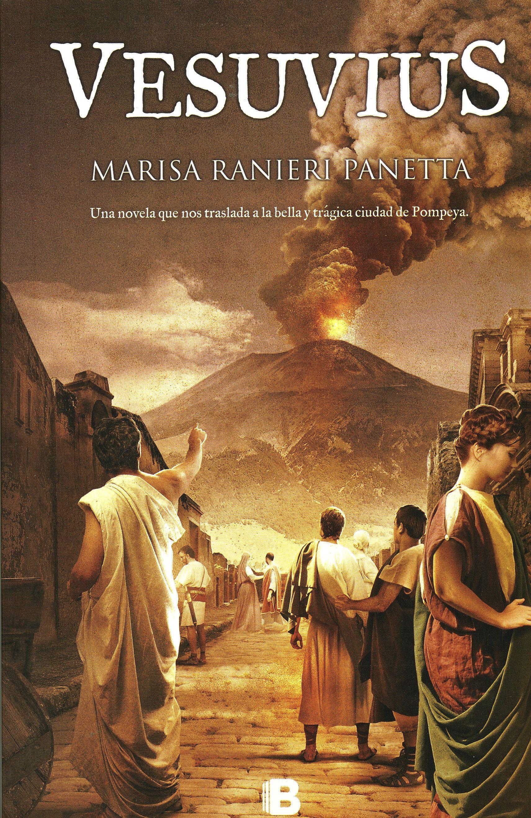 Vesuvius nos traslada a una época en la que la vida cotidiana se cruza con la alta política y las pasiones se tiñen de ambición desmedida. Una novela con la que recorremos las calles de Pompeya, entramos en los edificios públicos, oímos a las personas que acuden a las termas, que rezan a Isis o discuten en las basílicas. Marisa Ranieri Panetta, arqueóloga, ensayista y periodista, ganadora del premio Media Save Art, convocado por el Iccrom-Unesco, por un reportaje sobre Pompeya.