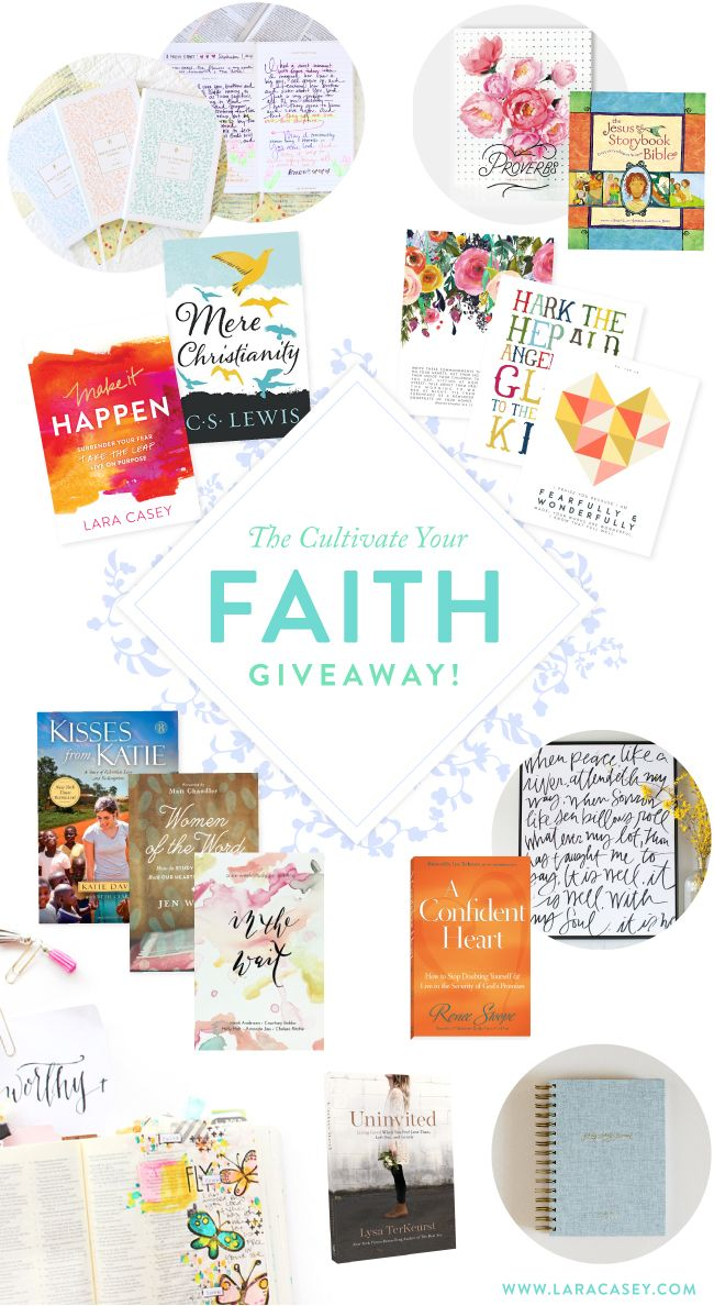 CULTIVATE YOUR FAITH FREE EBOOK + HUGE GIVEAWAY! Faith