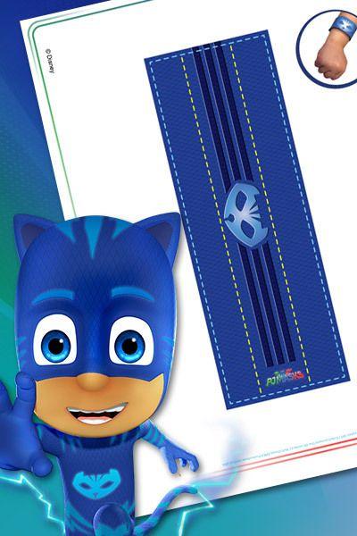 Pulsera De Catboy Superheroes En Pijama Aventuras En Pijamas Heroes En Pijamas