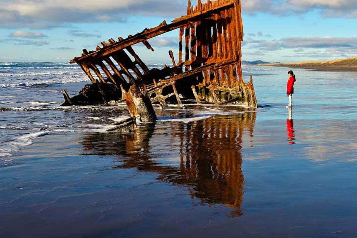 Peter Iredale Shipwreck in Fort Stevens State Park (15