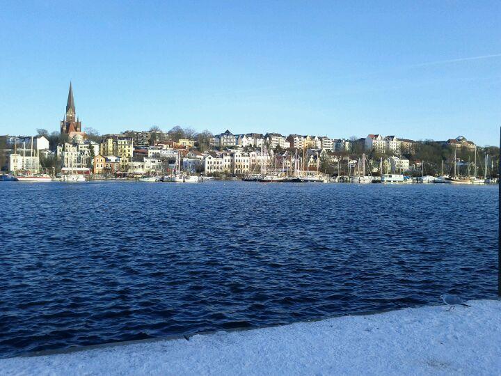 Flensburg City, Germany, New york skyline