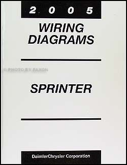 2005 Dodge Sprinter Van Wiring Diagram Manual Original
