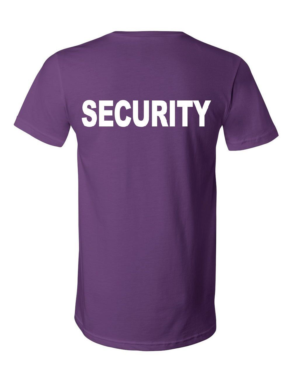 Security Women/'s V-Neck T-Shirt Bouncer Police Event Staff Uniform Guard