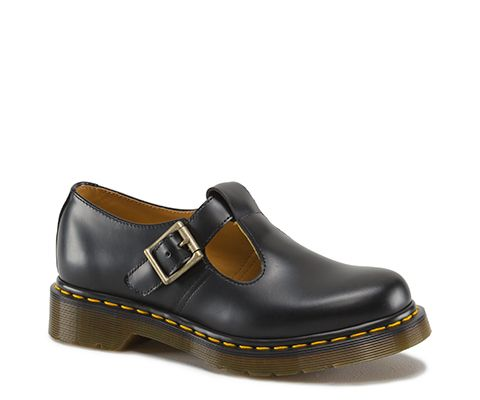 DR MARTENS POLLEY SMOOTH. Black Mary Jane ShoesBlack ...
