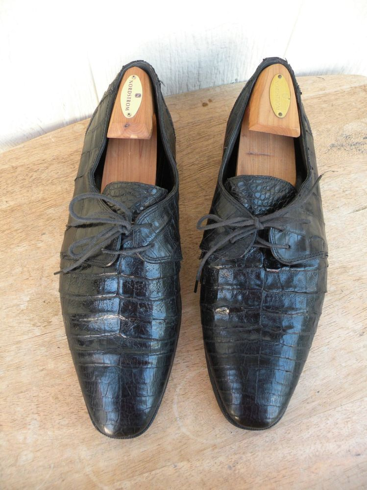 full range of specifications 100% satisfaction buy sale MENS DAVID EDEN ALLIGATOR SHOES SIZE 12 #fashion #clothing ...