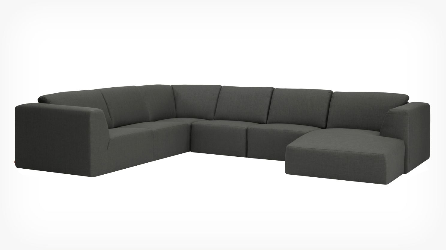 Morten 6 Piece Sectional Sofa With Chaise Canape Modulaire