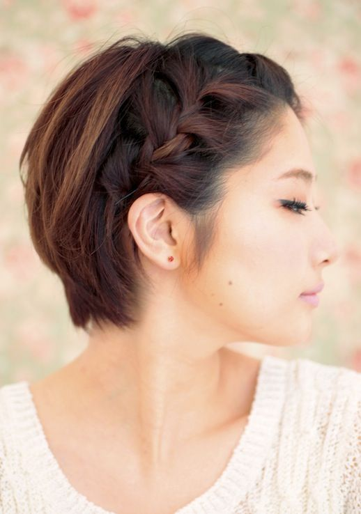 20 Beautiful Braids For Short Hair