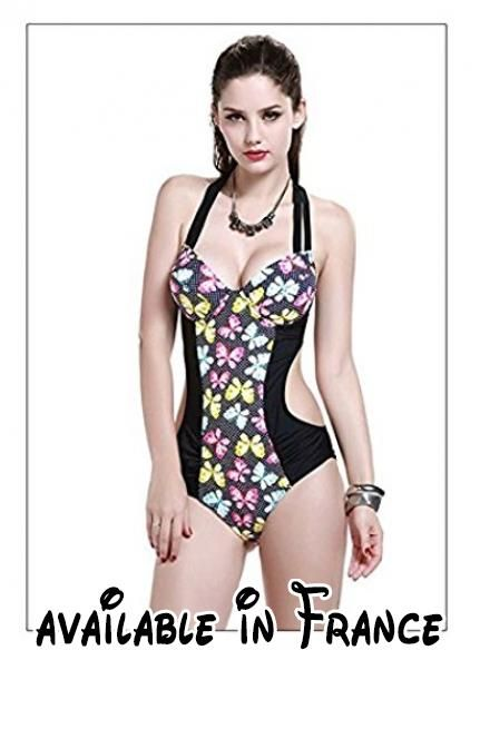 Thatch Maillot de bain pour femme Bikinis Maillots deux pièces Fashion Sexy,Sapphire Blue A,XL