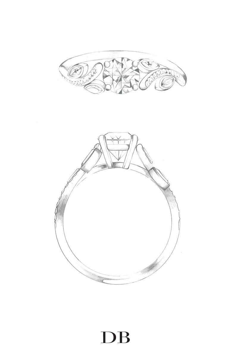 Adonis Rose Solitaire Ring   De Beers