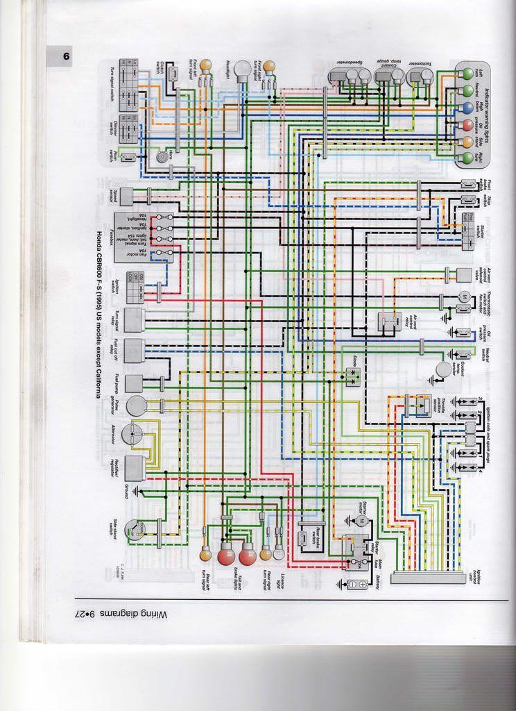 Cbr Wiring Diagram Honda Cbr