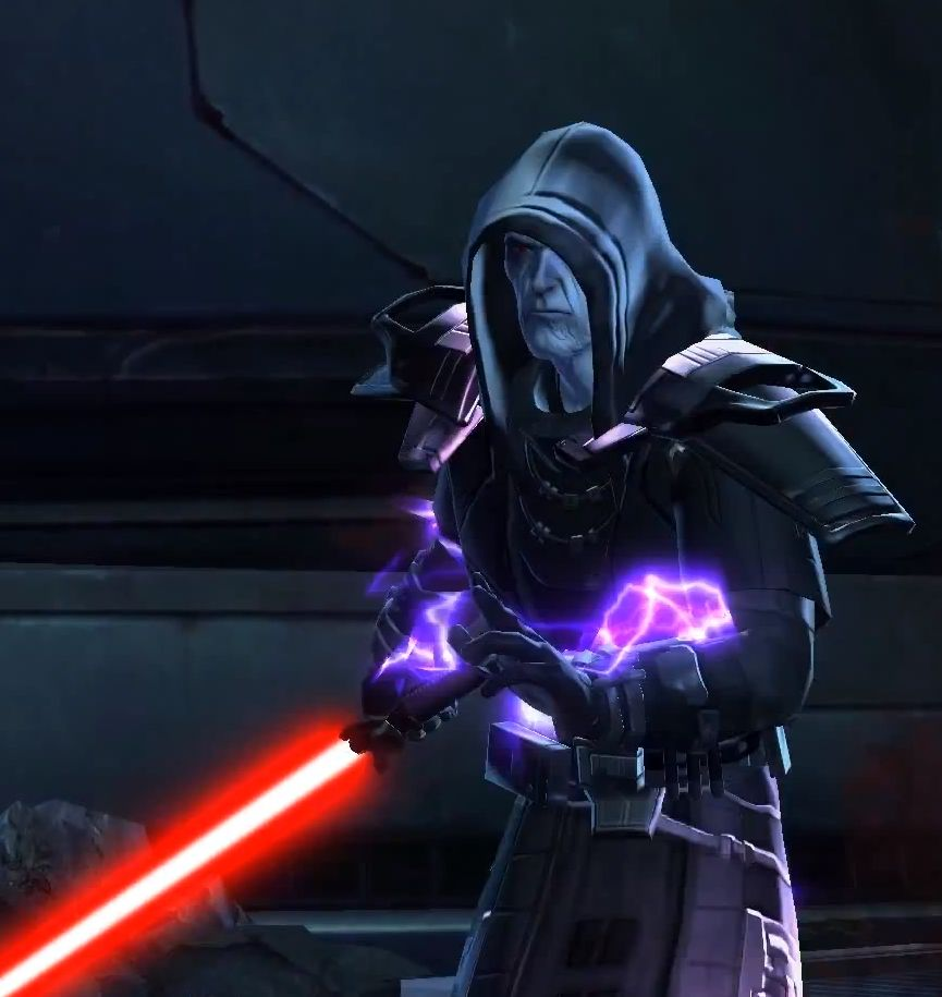 The Sith Emperor - Lord Vitiate | Star wars villains, Dark side star wars, Star wars the old