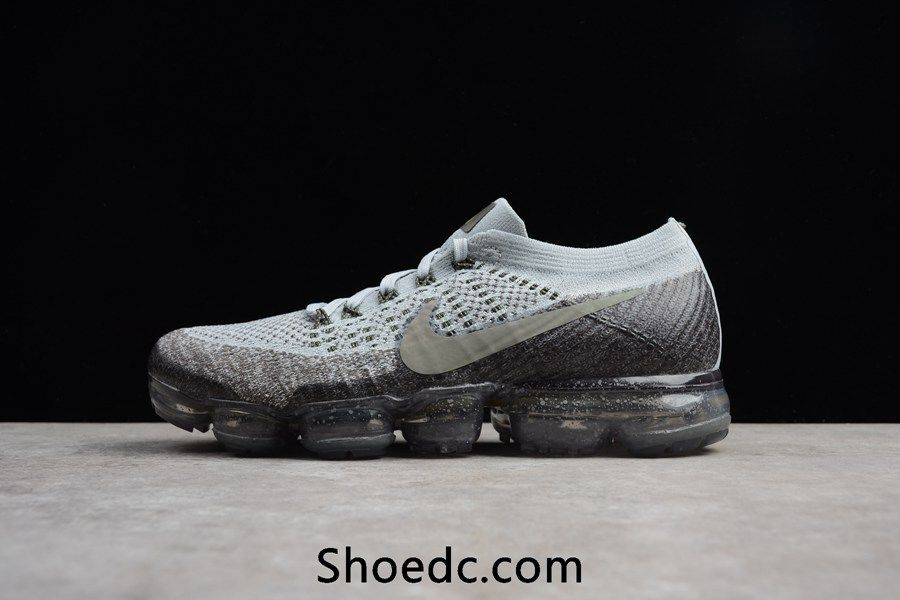 Nike Air VaporMax 2018 Flyknit Gray Silver Women Men  2f1dbaedd