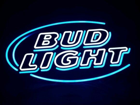 Bud Light Neon Bar Sign Beer With