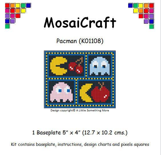 MosaiCraft Pixel Craft Mosaic Kit /'Warrior/' Pixelhobby