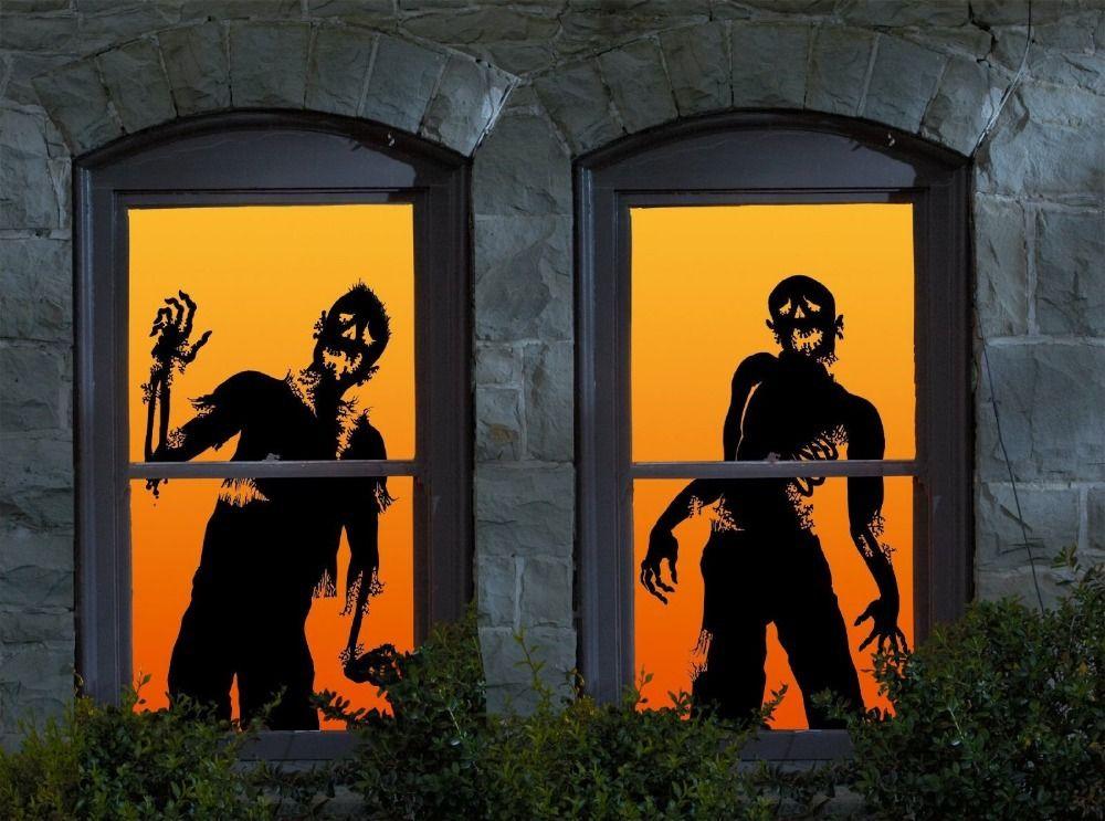 Halloween Movie Silhouettes images Halloween Pinterest - halloween garage ideas