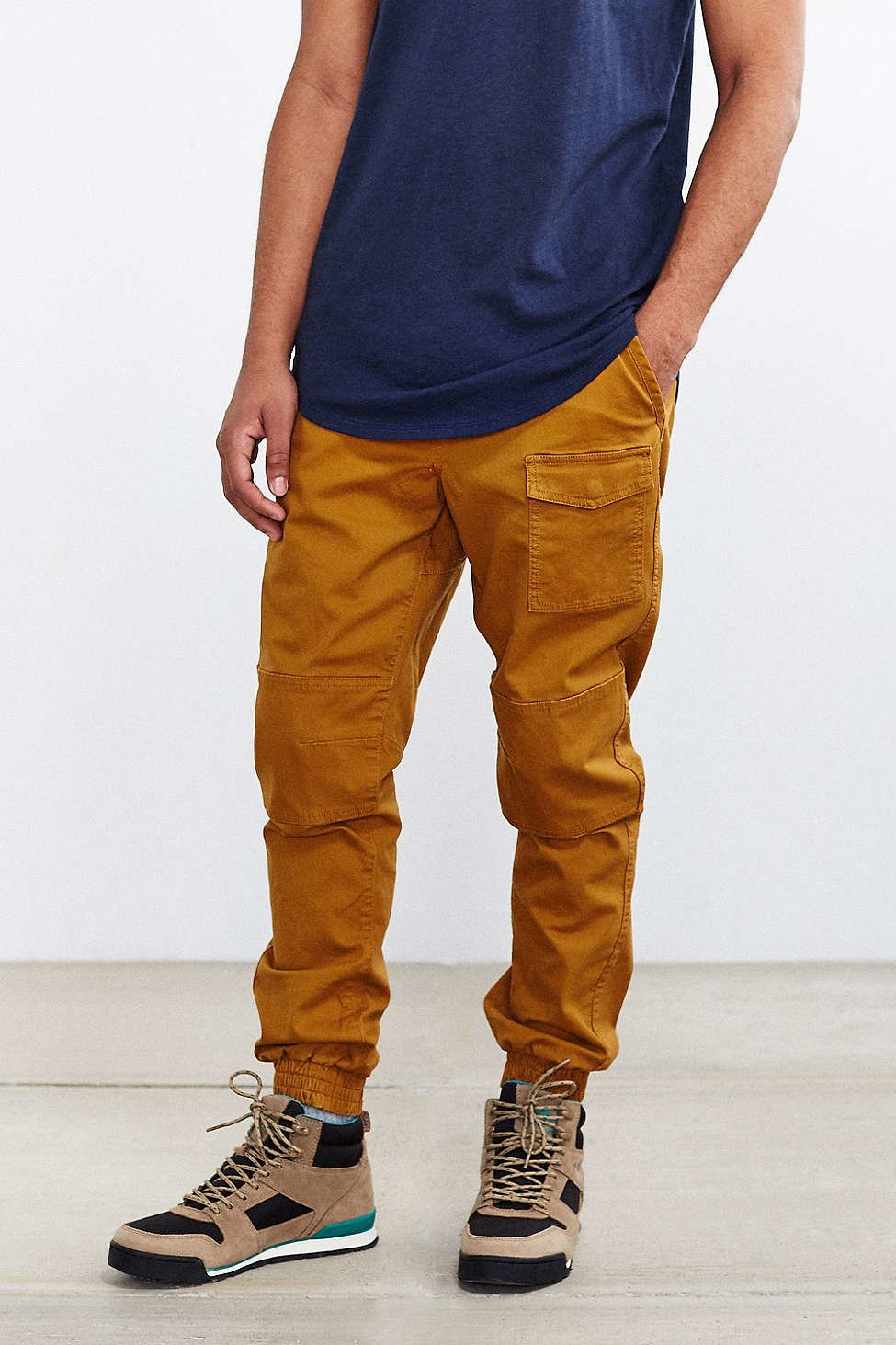 reputable site f0983 b3931 Garrett Gee. without walls cargo pocket jogger