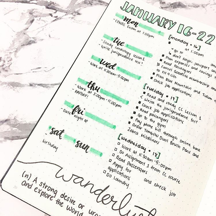 30 Amazing Bullet Journal Weekly Spreads You'll Want To Steal #novemberbulletjournalcover