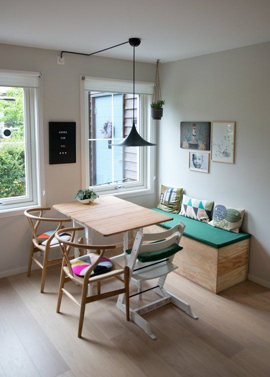 House Tour A Clean  Colorful Oslo Townhome Pinterest Oslo