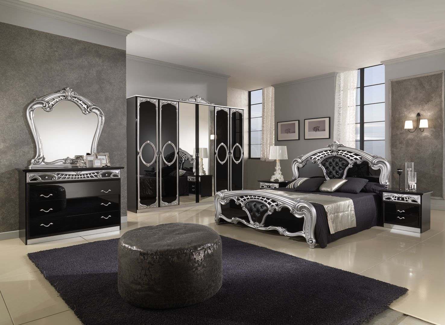 Royalty Black bedroom set.