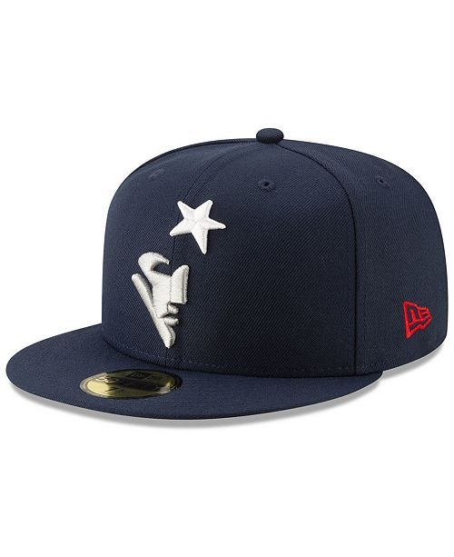 db3869284cb9e New England Patriots Logo Elements Collection 59FIFTY FITTED Cap in ...