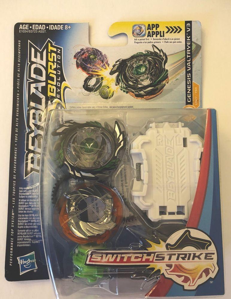 Hasbro Beyblade Burst Evolution Switch Strike Dark Genesis Valtryek V3 Stamina Ebay Kids Toy Gifts Beyblade Birthday Party Beyblade Burst