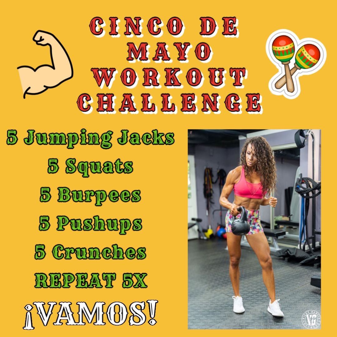 Cinco De Mayo Workout Challenge ...