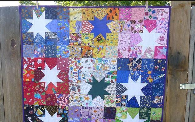Scrappy Wonky Star Block Tutorial Star Quilt Patterns Star Quilt Blocks Quilts