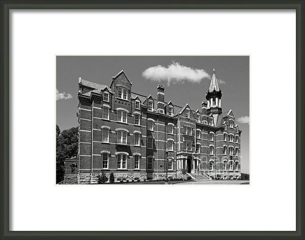 Fisk University Jubilee Hall Framed Print By University Icons Framed Prints Tennessee Colleges Print