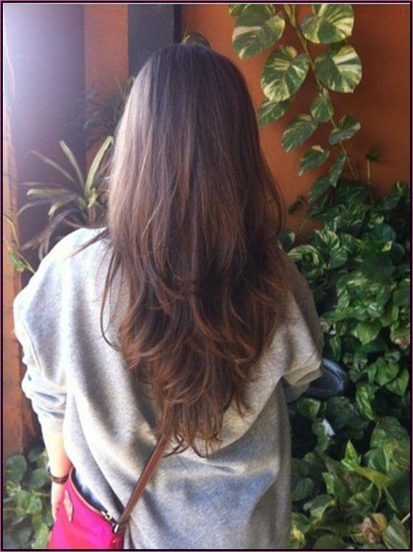 18 Haarschnitte für lange dicke Haare  – KätzchenXOXO