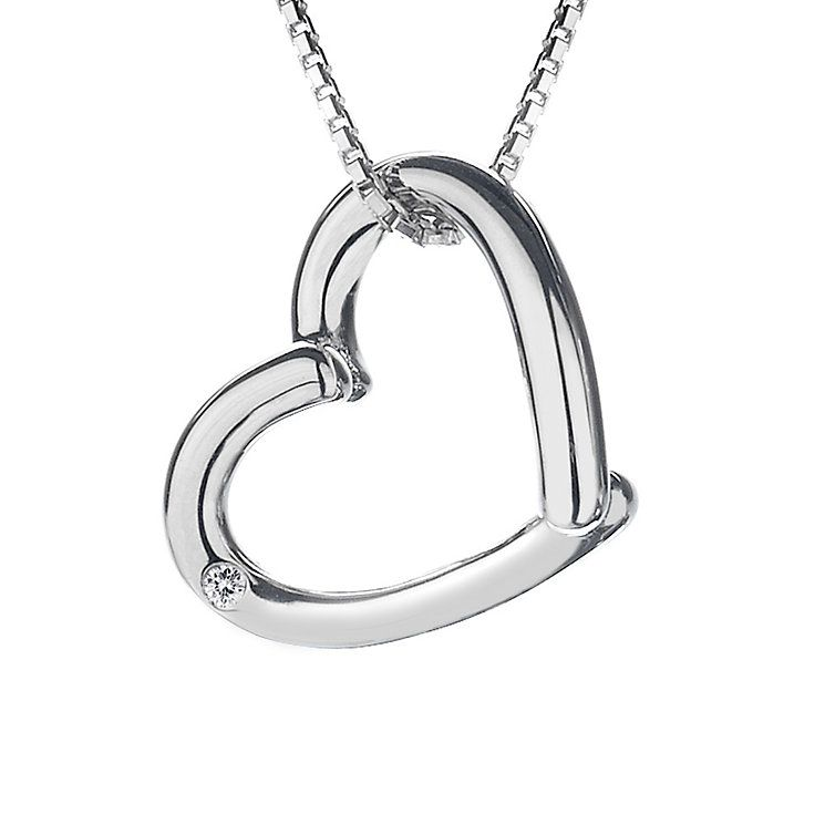 Hot diamonds sterling silver overlap open heart pendant product hot diamonds sterling silver overlap open heart pendant product number 9125965 mozeypictures Image collections