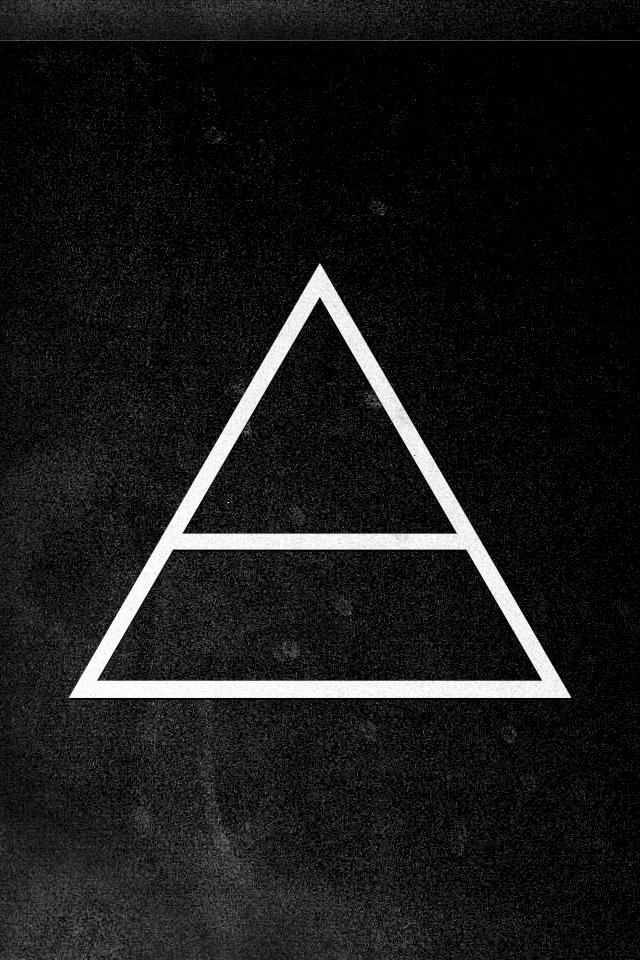 White Triangle Papeis De Parede Papel De Parede Celular Planos