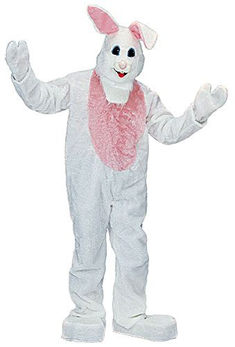 ... Mascot Bunny Costume Bunny HeadShoe CoversJumpsuit W/MittsBunny  FeetHelp Make This Spring Extra Special With This Mascot Bunny Costume! The  Fun, Adult