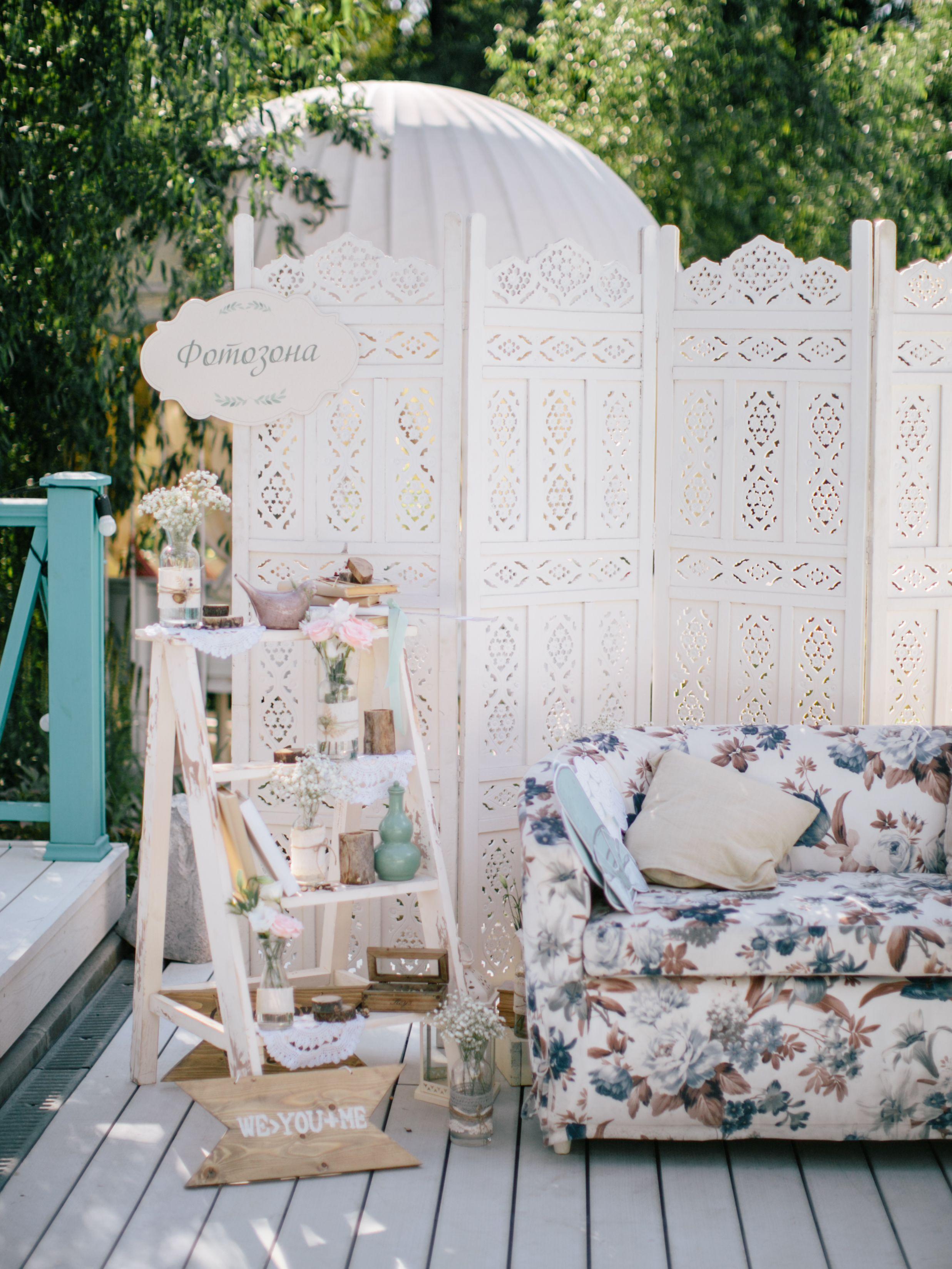 wedding photo zone, wedding photo, wedding decor, summer wedding ...