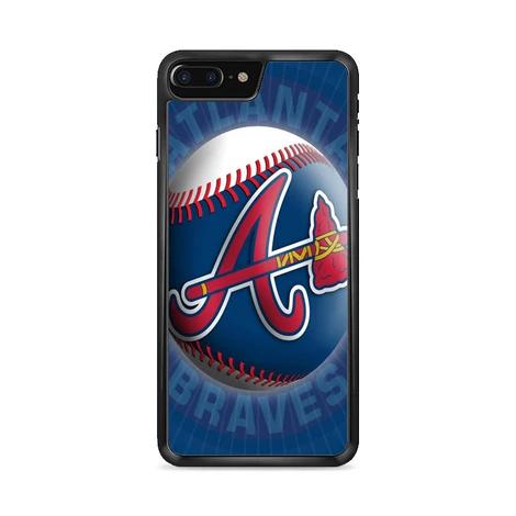 Atlanta Braves Softball Logo iPhone 8 Plus Case (Dengan