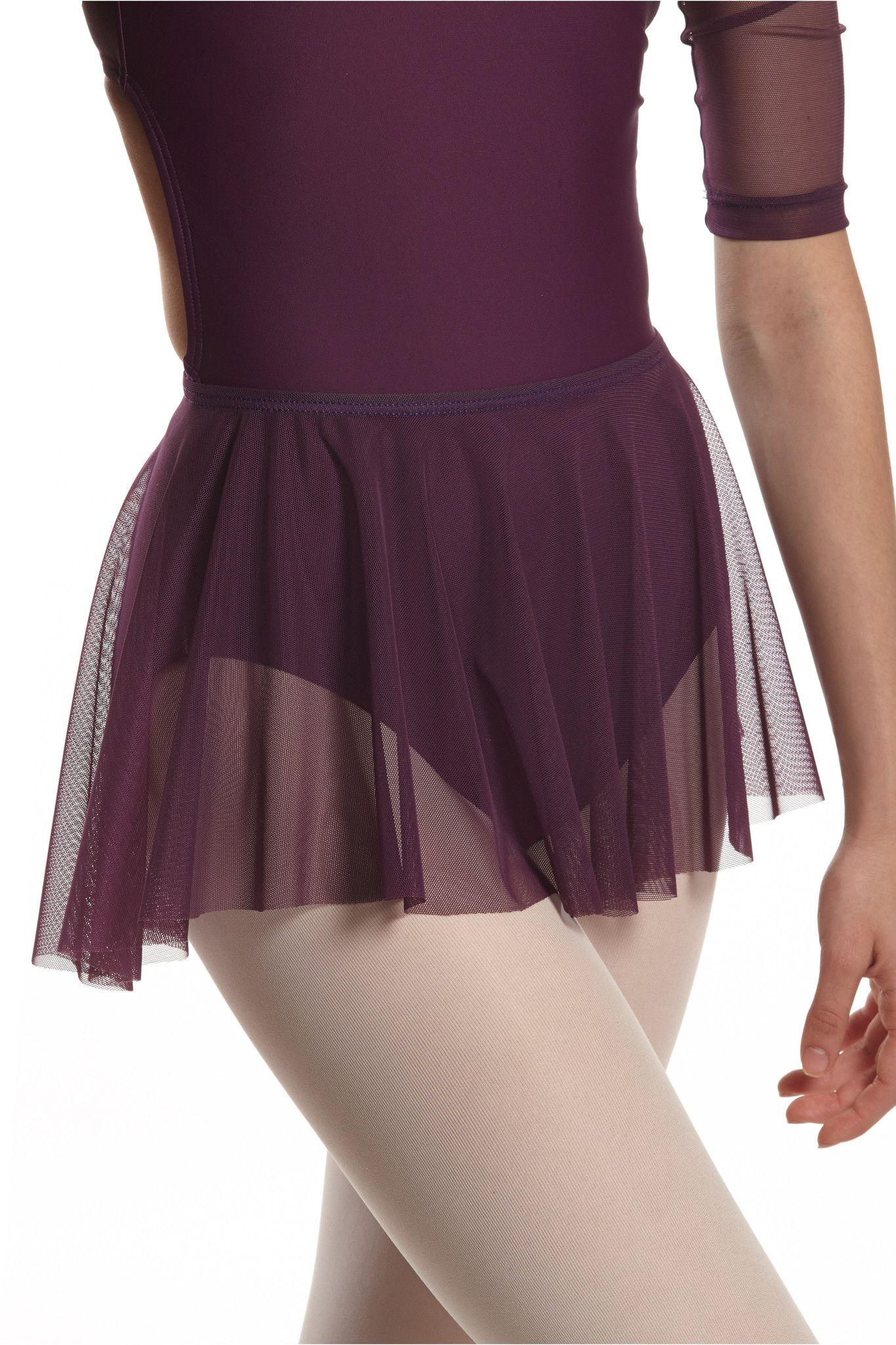 City Skirt - black mesh Gimnasio 403f962f71b
