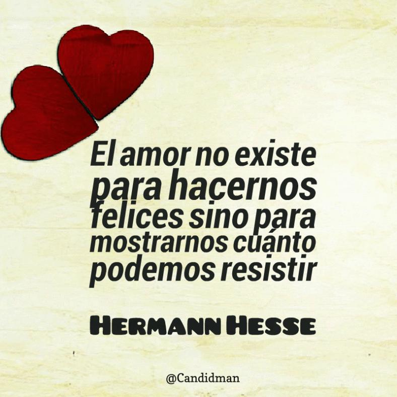 El Amor No Existe Para Hacernos Felices Sino Para Mostrarnos Cuanto