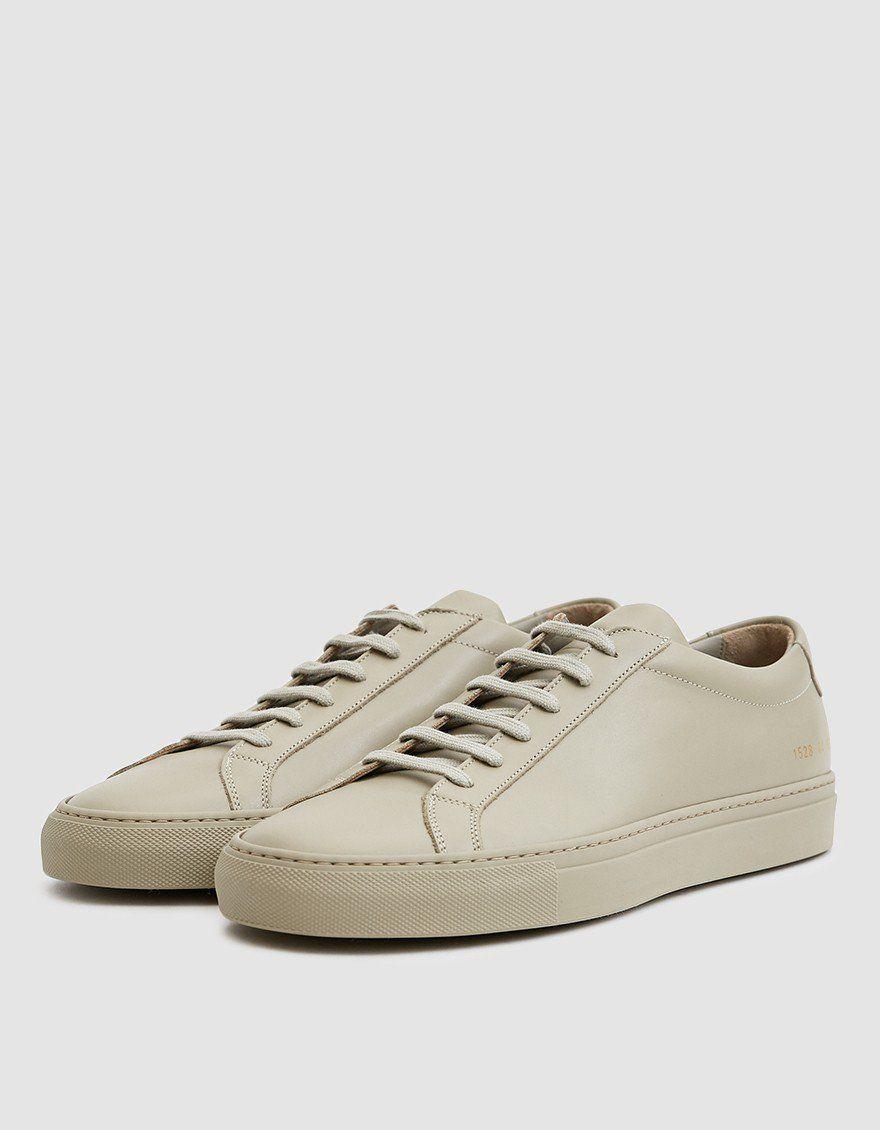 Original Achilles Low Sneaker in Taupe