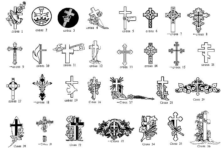 Cross Clipart Headstones Clip Art Monument Ideas